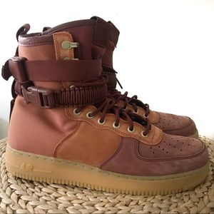 Nike SF Air Force 1 Premium High Russet Size 10.5